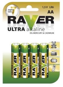 Baterie GP Raver, zdroj: EMOS spol. s.r.o.