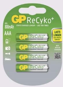 Baterie GP ReCyko+, zdroj: EMOS spol. s.r.o.