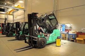 Ojeté vysokozdvižné vozíky Semat HB zastanou mnoho práce a ušetří finance |