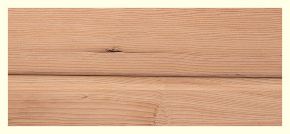 Struktura dřeva Hemlock, zdroj: SaunaSystem