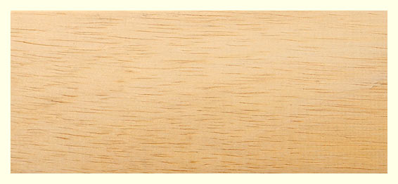 Struktura dřeva Abachi, zdroj: SaunaSystem