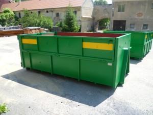 Velkoobjemový kontejner, zdroj: www.malikcont.cz