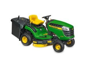 Zahradní traktor John Deere X115R, zdroj: www.krapacek.cz