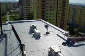 Hydroizolace střechy, zdroj: EKISYS spol. s.r.o.