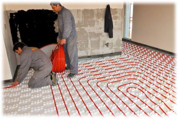 Podlahové topení, zdroj: Ekomplex